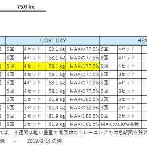 元ガリガリ男子のベンチプレス100kgチャレンジ【5日目】