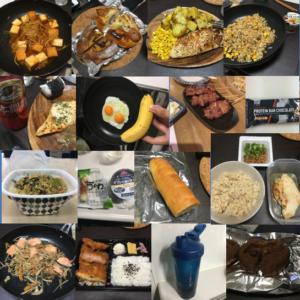 【7日間で1kg増量】食事21回の内容を全て公開